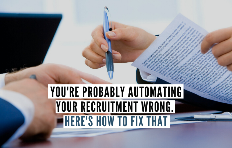 Automating Your Recruitment process