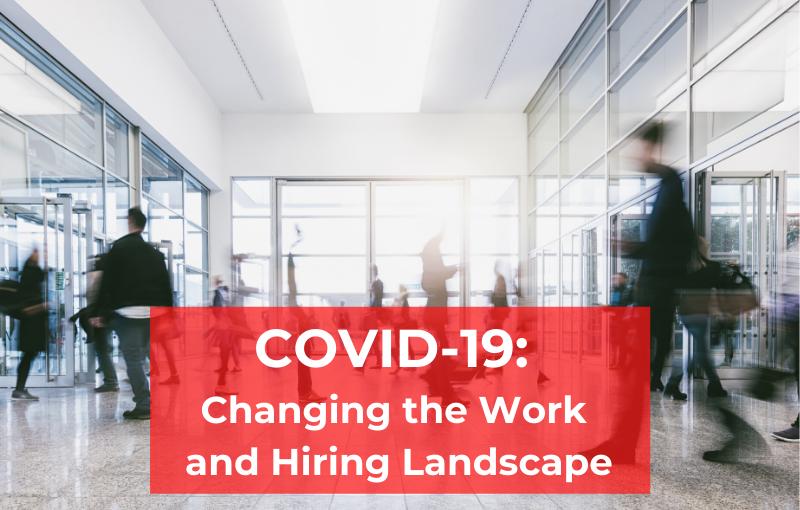 COVID-19 work hiring