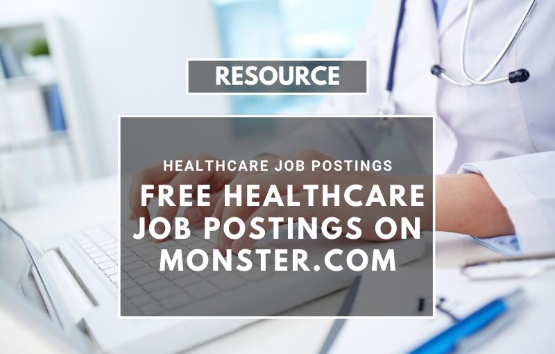 healthcare job